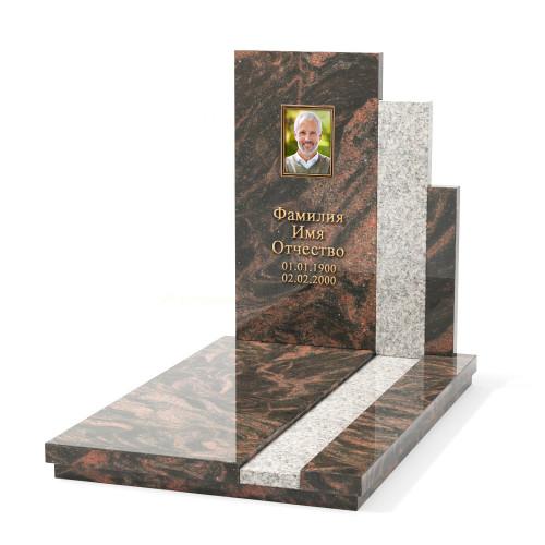 Одинарный памятник KM-10