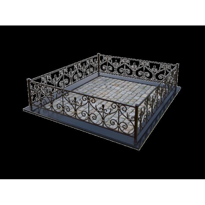Кованная ограда KG16