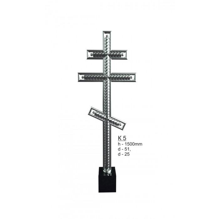 Крест из нержавеющей стали №5