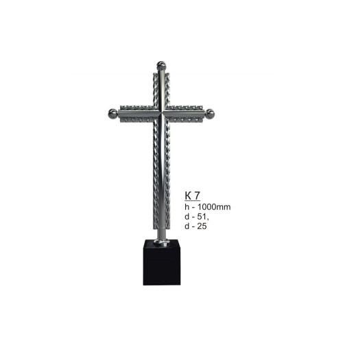 Крест из нержавеющей стали №7
