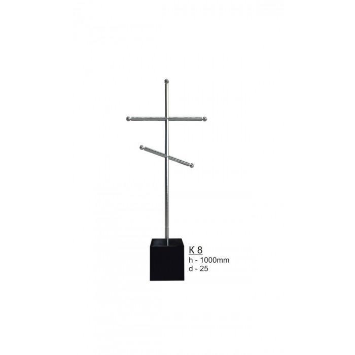 Крест из нержавеющей стали №8