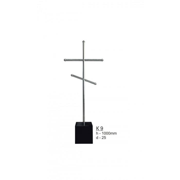 Крест из нержавеющей стали №9