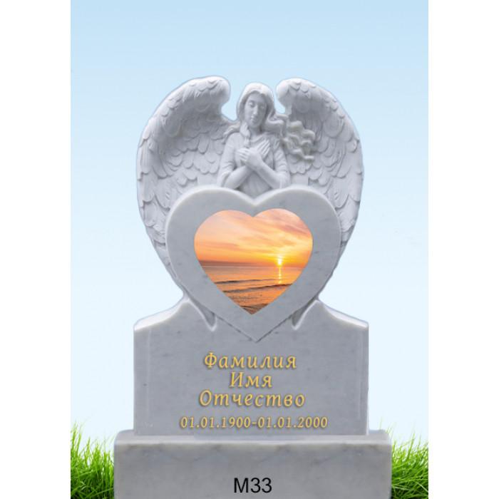 Памятник из мрамора M-33