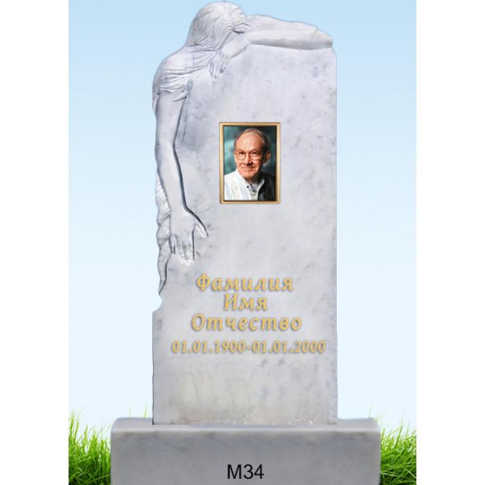 Памятник из мрамора M-34