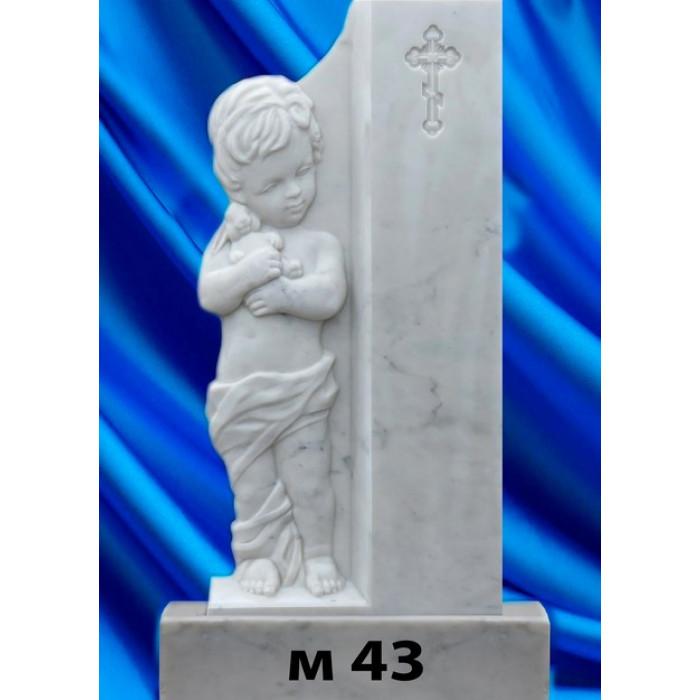 Памятник из мрамора M-43