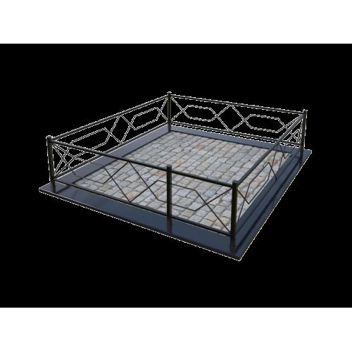 Металлическая ограда 1
