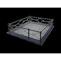 Металлическая ограда 12