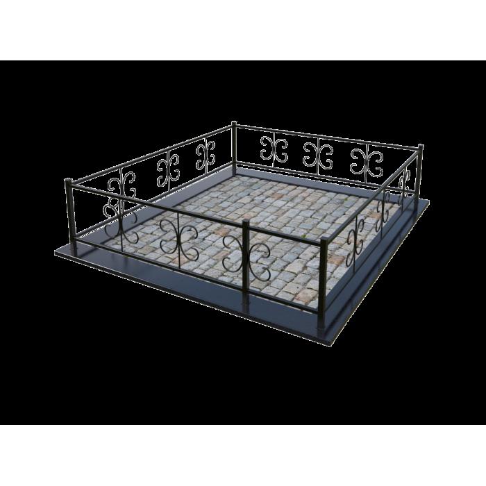 Металлическая ограда 13