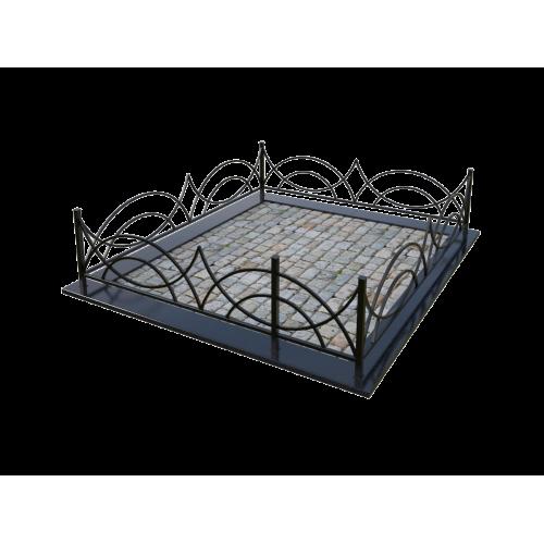 Металлическая ограда 14