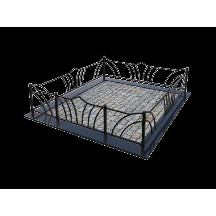 Металлическая ограда 15