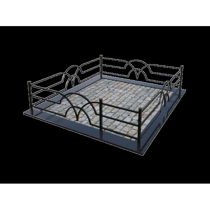 Металлическая ограда 17