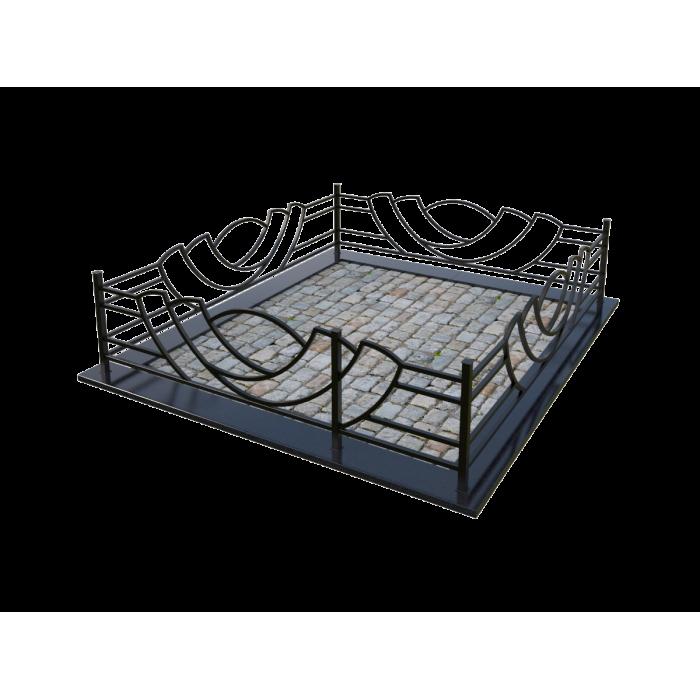 Металлическая ограда 18