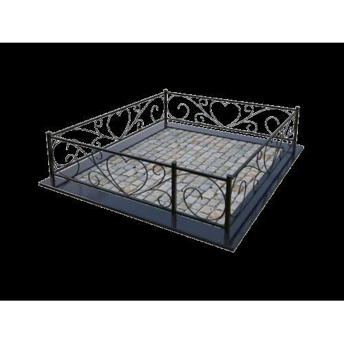 Металлическая ограда 19