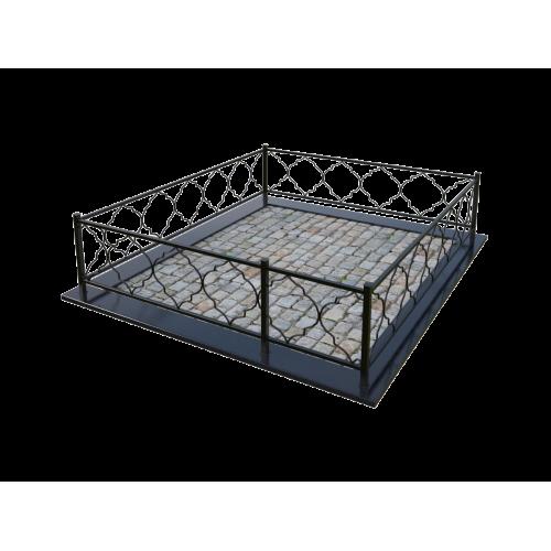 Металлическая ограда 2