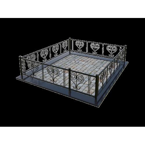 Металлическая ограда 3