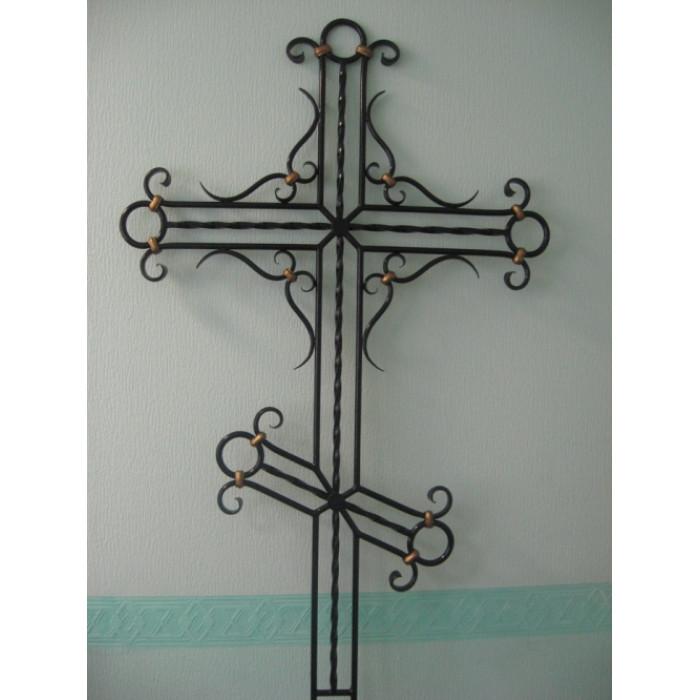 Кресты кованые №9