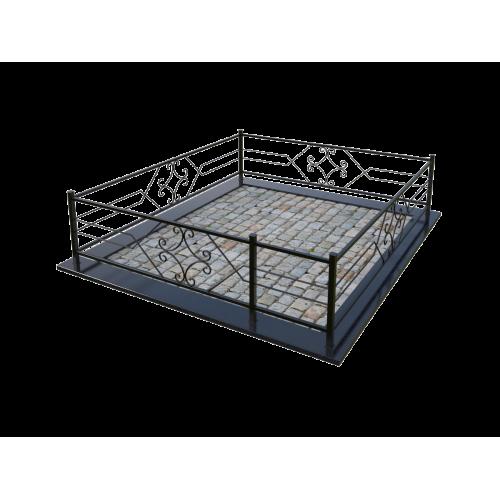 Металлическая ограда 4