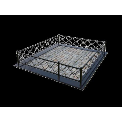 Металлическая ограда 6
