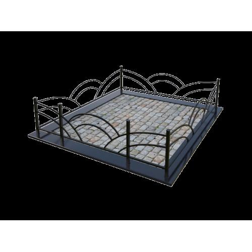 Металлическая ограда 7