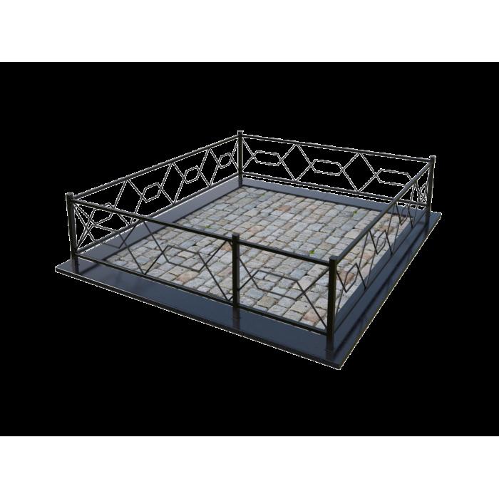 Металлическая ограда 9