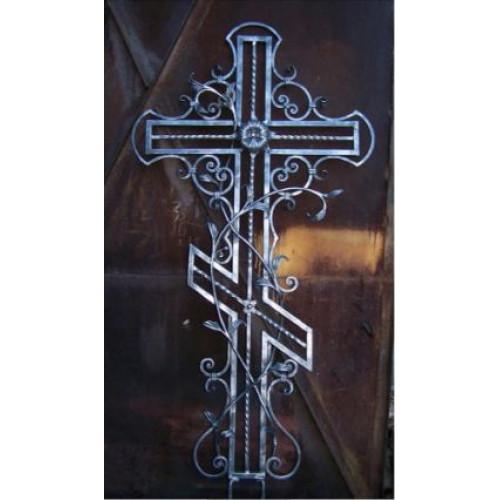 Крест кованый №8