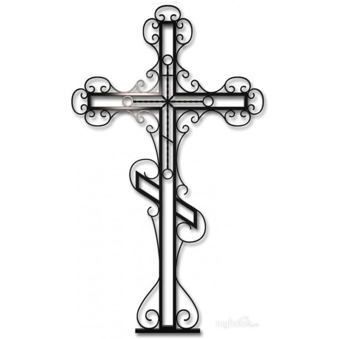 Крест кованый №5