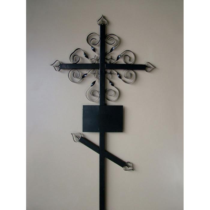 Крест кованый №7